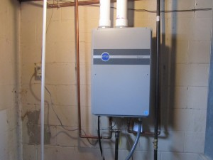 pic of a tankless water heater